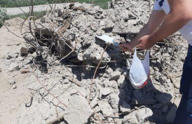 Отбор проб специалистами филиала ЦЛАТИ по Республике Дагестан.